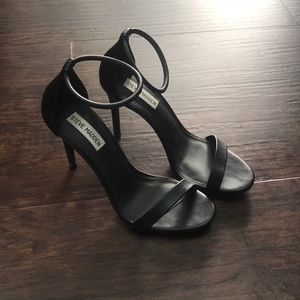 Steve Madden Black Heels Size 8.5